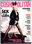 COSMOPOLITAN MAGAZINE ITALY - BUNNY GIRL COVER (MAY  2015)